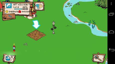 تحميل لعبة Smurfs Village السنافر اخر اصدار للاندرويد