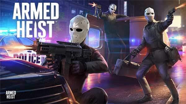 تحميل لعبة Armed Heist كاملة Armed Heist 1.1.39 Apk