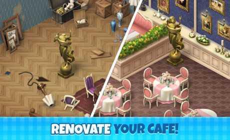 تنزيل لعبة Manor Cafe 1.72.14 Apk للاندرويد