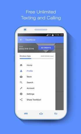 تطبيق Textnow Free Text + Calls 20.13.0.3