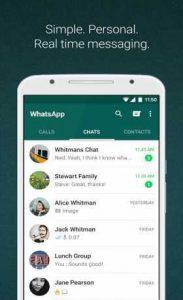 واتساب احدث اصدار كامل Whatsapp Messenger 2.20.116 Apk