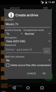 zarchiver donate 2.png تطبيق فك وضغط الملفات ZArchiver Donate 0.9.3 B-9346