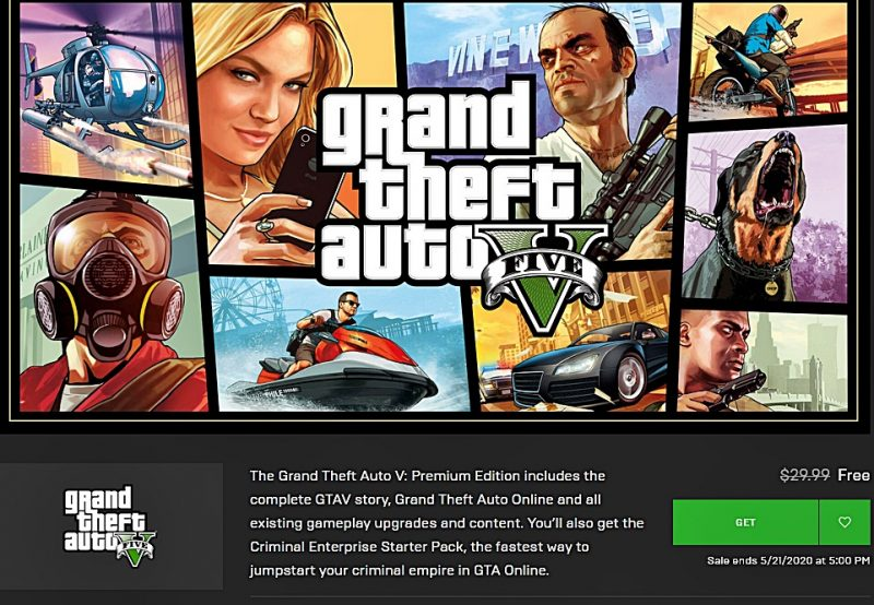 Epic GTA 5