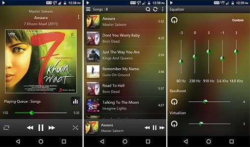 تطبيق Poweraudio Plus Music Player