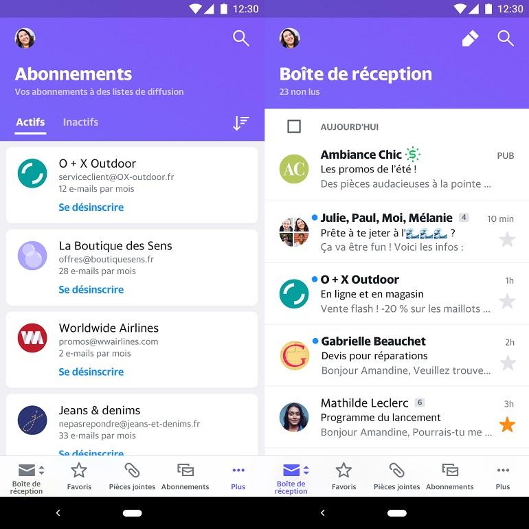 تطبيق Yahoo Mail