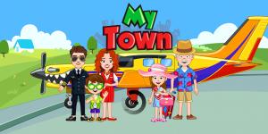 تحميل لعبة ماي تاون المطار My Town للايفون و للاندرويد