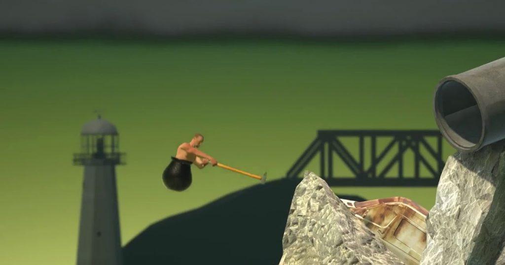 تحميل لعبة Getting Over It للكمبيوتر برابط مباشر من ميديا فاير